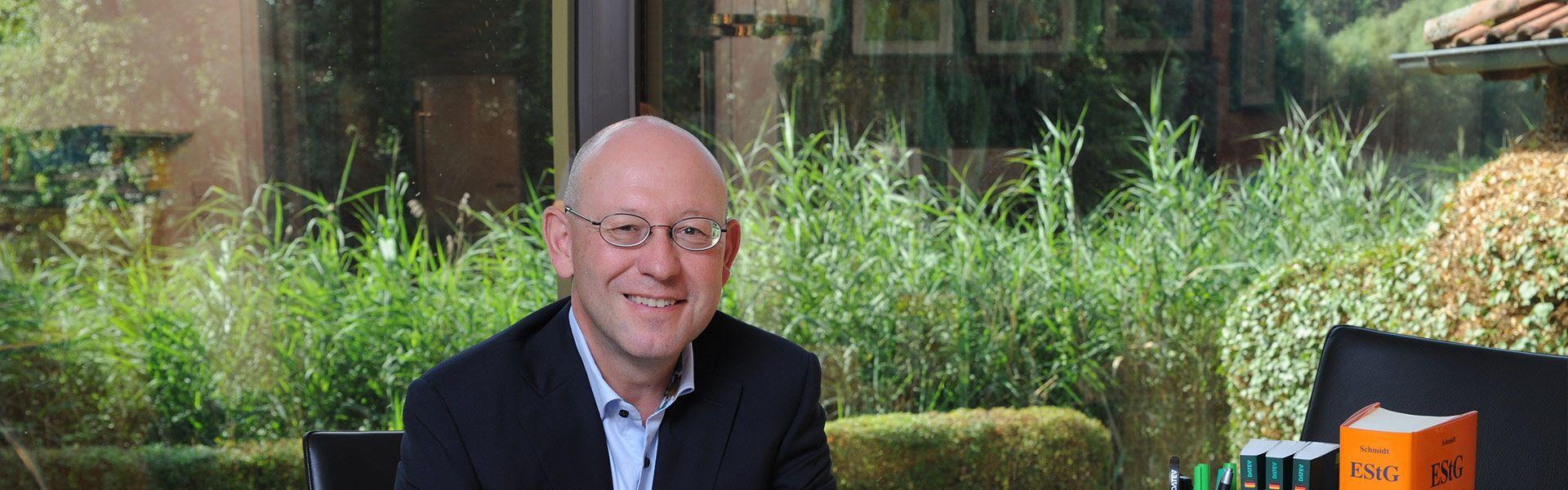 Zur Person: Rainer Lehrieder, Steuerberater